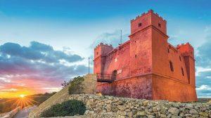 Malta Rode Toren