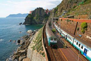 Klimaat reizen trein